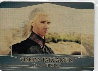 Game Of Thrones Valyrian Steel - Gold Parallel Metal Base Card 95 (055/100)