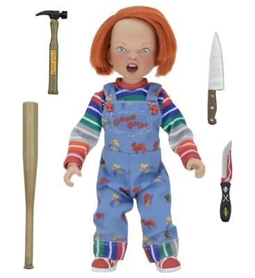 Childs Play - CHUCKY Clothed Doll 8-inch Scale Action Figure 14cm Retro NECA/OVP