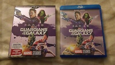 Guardians of the Galaxy (Blu-ray 2017) with slipcover Marvel NO digital copy