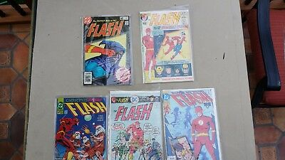 The FLASH Nos. 213, 239 & 318 plus two more - Lot of 5 - $5.99