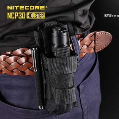 Nitecore NCP30 Tactical Flashlight Torch Holster Penlight Holder Belt Pouch Case