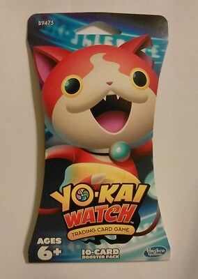 YO-KAI WATCH Trading Card Game Booster Pack 10-Cards TCG YOKAI Cards NEW SEALED