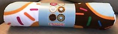 New 2017 Dunkin Donuts Microfiber Beach Towel 32 X 58! Coffee Tea Lover, Kids!