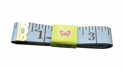 BODY MEASURING RULER SEWING CLOTH TAILOR TAPE MEASURE SOFT FLAT 60IN 150CM Blue