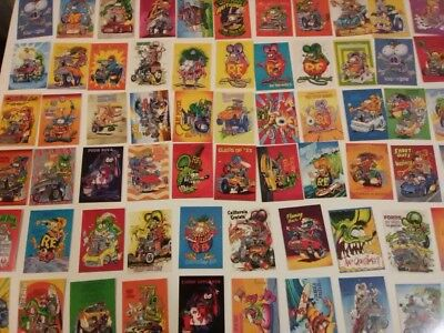 Rat Fink Trading Cards, Set #1,Ed Big Daddy Roth