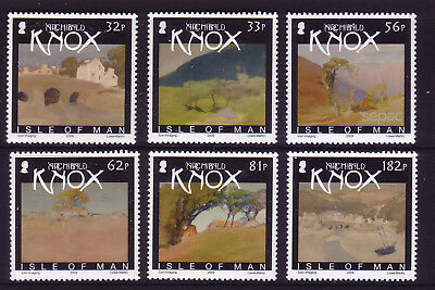 2009 Isle of Man. Watercolour Paintings by Archibald Knox SG1542/47 MNH