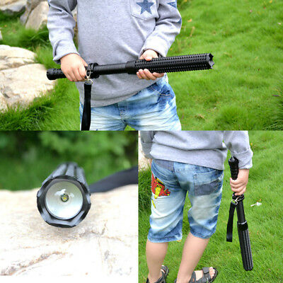 Tools Defense Torch Led Light Lamp Emergency Outdoor Powerful Self 4jR3Aq5L