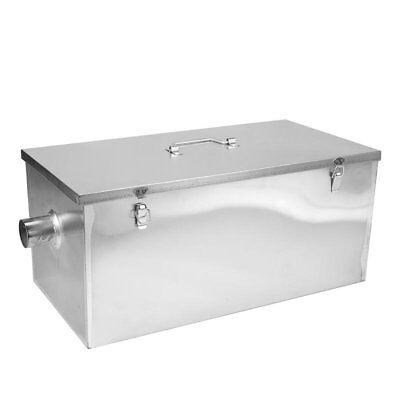 BEST PRICE Commercial 25LB Grease Trap for Restaurants 13GPM Gallons Per Minute