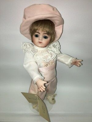 "Beautiful French 10"" Bru Jne 9  Repro by Bev Brown, Blue Eyes, All Bisque"