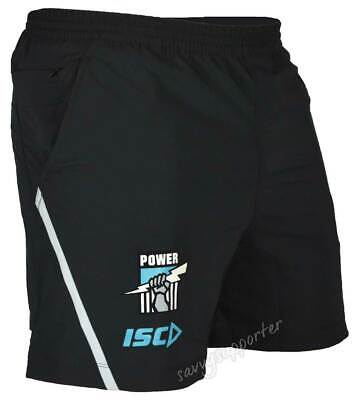 Port Adelaide Power 2018 AFL Mens Training Shorts Sizes S-5XL BNWT