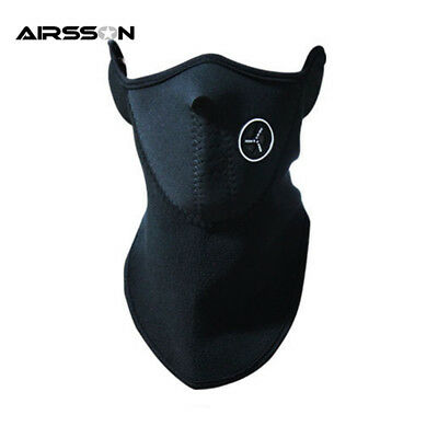 Airsoft Warm Fleece Bike Half Face Mask Cover Face Hood Protection Ski Cycling