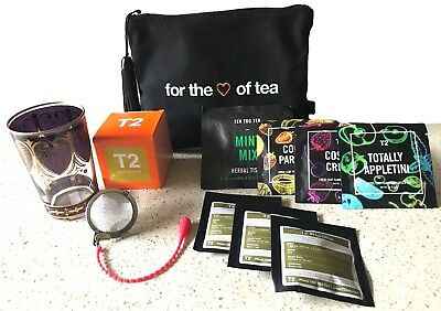 T2 Tea For the love of Tea moroccan glass edition gift pack