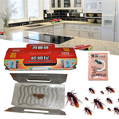 Cockroach Roach House Disposable Insect Trap Control Ants Spider AU
