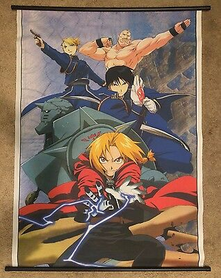 "Full Metal Alchemist Wall Scroll 31"" x 42"""