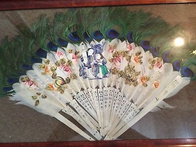 Chinese Export Antique Fan