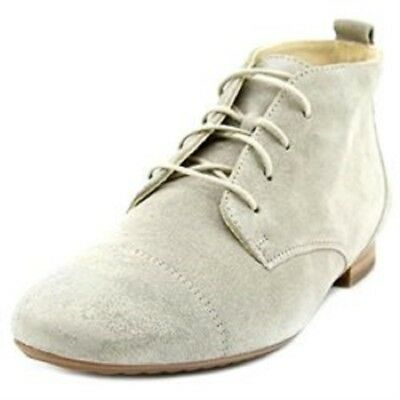 8f461c4521cb3 Paul Green Womens Tara Lace Up Suede & Leather Chukka Boots Beige 7US/4.5UK