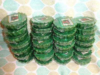 Yankee Candle Wrapped Wax Tarts LOT OF 14 CHRISTMAS WREATH ~~ Great Price!!