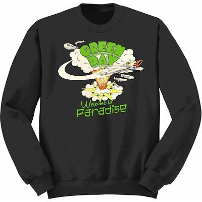 NEW Green Day Kids Youth's Fit Sweatshirt: Welcome to Paradise (7 - 8 Years (Lar