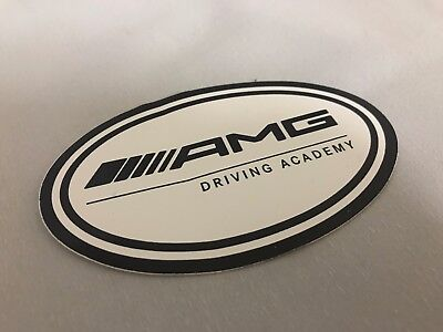 Mercecdes Benz AMG Driving Academy Decal For Windshield Rare Limited