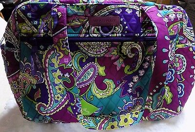New Vera Bradley HEATHER retired Baby Bag Diaper Bag with Changing Pad set NWT