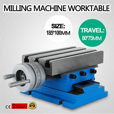 "New Milling Machine Worktable Cross Slide Table 4"" X 7.3"" Updated Hot Precision"