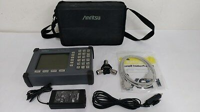 Anritsu S331C Site Master, Cable and Antenna Analyzer, 25MHz to 4GHz
