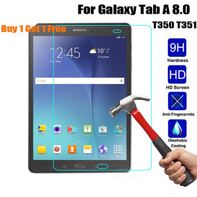 Genuine Gorilla Tempered Glass Screen Protector Cover For Samsung Galaxy Tablet