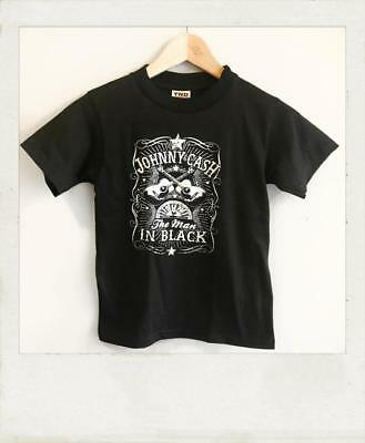 Johnny Cash Baby / Kids T Shirt