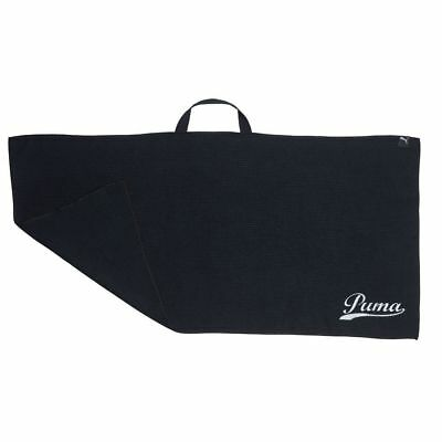 Puma Golf Players Microfiber Towel Black - 91cms x 46cms