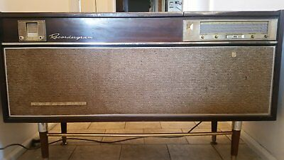 Vintage Phillips Radiogram Record Player Reel to Reel Tube Radio Model RFI