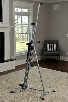 Maxi Climber Exercise Machine Vertical Climber Stepper Used Once Folding