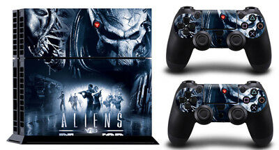 ALIENS NT057 DECAL SKIN PROTECTIVE STICKER for SONY PS4 CONSOLE CONTROLLER