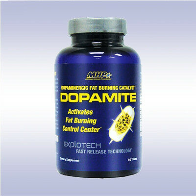 MHP DOPAMITE 60 Tablets Fat Burner fit oxy hydroxycut shred lean fix xtreme