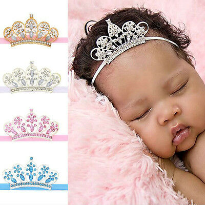 Baby & Toddler Clothing Infant Baby Girls Custom Made Tiara Headband Or Crown Hat Super Cute Made In Usa Baby Accessories