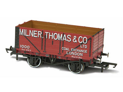 Oxford OR76MW7027 Güterwagen 7 plank No. 1000 Milner Thomas & Co Spur 00