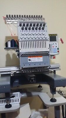 Avance 1501 Embroidery Machine-Mint Condition Hardly Used