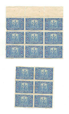 1922 Yugoslavia 2 x Mint Blocks MNH