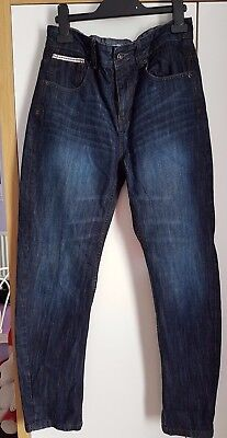 F=F boys blue jeans.Size 12-13.100% cotton.Good quality/condition.