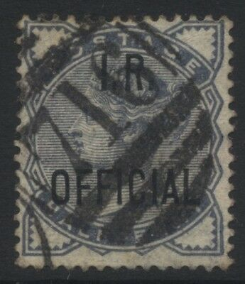 GB QV I. R. Official ½d SG O5 £35.00 Used