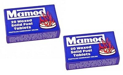 40 Mamod Steam Engine Waxed Solid Fuel Tablets in Boxes