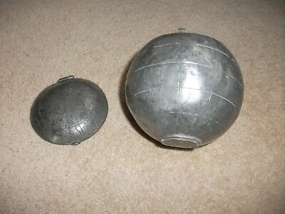Antique Metal (Pewter Possibly) Chinese/japanese Tea Caddy Globe? For Repair