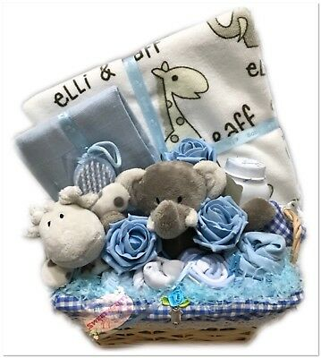 Baby Boy Gift Basket Hamper Baby Afterbath Essentials Maternity Baby Shower