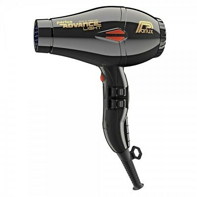 Parlux Advance Light Ionic Hair Dryer Black - Next Day Uk Delivery