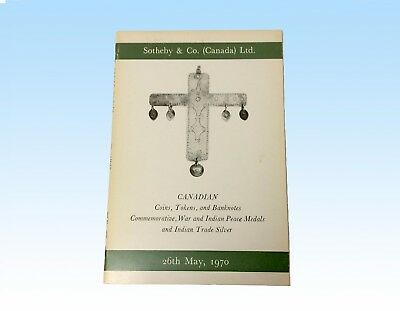 Sotheby & Co. (Canada) Ltd. May 1970 Auction Catalogue, Coins, Tokens, Banknotes