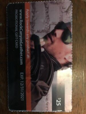 $25 Rock Canyon Leather gift card
