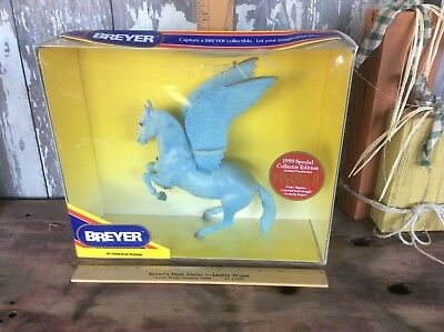 Vintage Breyer 1999 Special Edition Blue Pegasus II No 720899 , In Original Box
