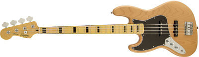 Squier Vintage Modified Jazz Bass 70s Left-Hand Natural Free Shipping