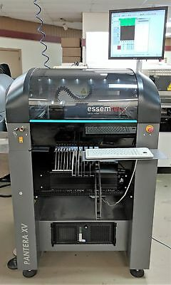 ESSEMTEC Pantera PAN-XV Low volume pick and place system 2011, 0201 with feeders