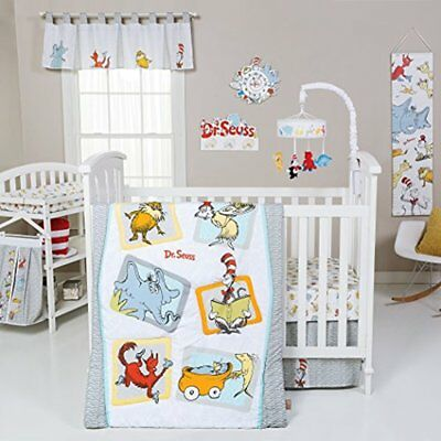 Bedding Sets Trend Lab Dr. Seuss Friends Piece Crib Set, Multi
