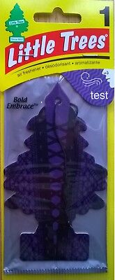1 Pack ~ Little Trees Bold Embrace Hanging Car Air Freshener / FREE SHIPPING